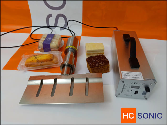 1000W Titanium Ultrasonic Cutting Equipment For Bread / Cake , Long Life