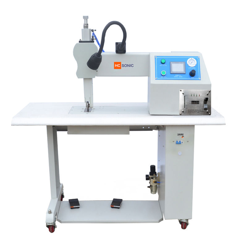 800W Ultrasonic Seam Welding Equipment For Fabric Melt - Blown And PP Roll